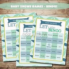Gra BINGO! na Baby Shower